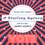 Vote for Starling as Seattle's Best Nanny Agency