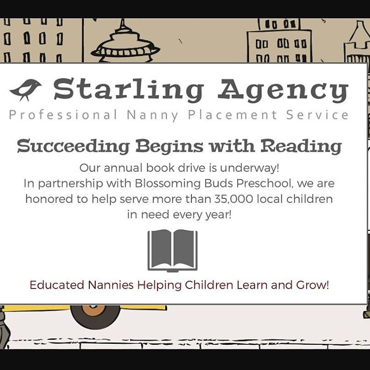SUCCEEDING BEGINS WITH READING BOOK DRIVE! Each year Starling Agencyhellip
