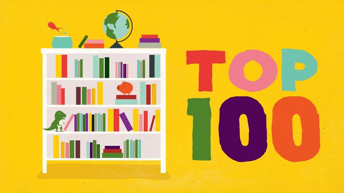 Top 100 Books ages 9-14