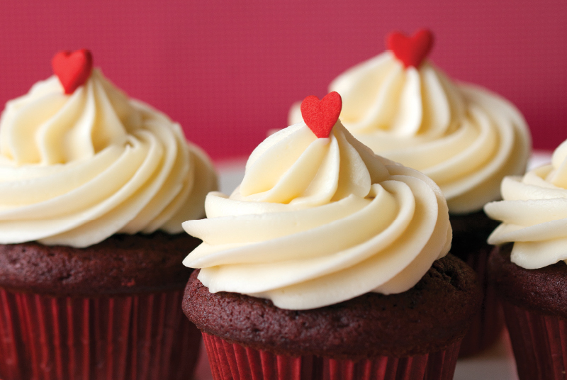 Recipe for Red Velvet Cupcakes from Trophy!