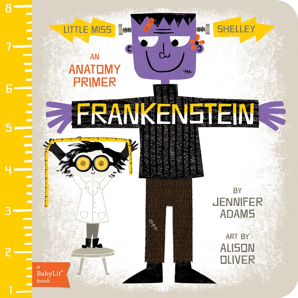 Must Read Children's Book: Frankenstein Anatomy Primer