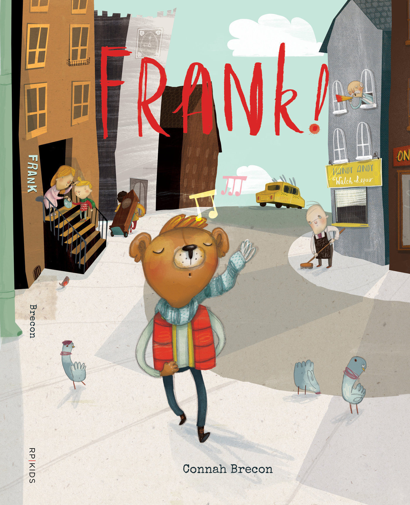 Book of the Week: Frank!