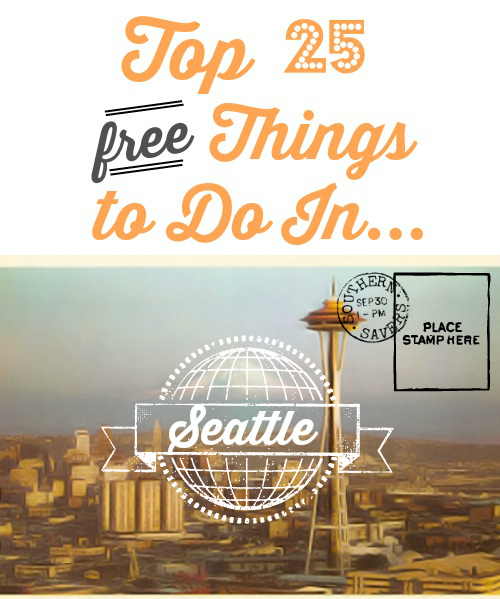 Top 25 Free Things to do in Seattle with Kids