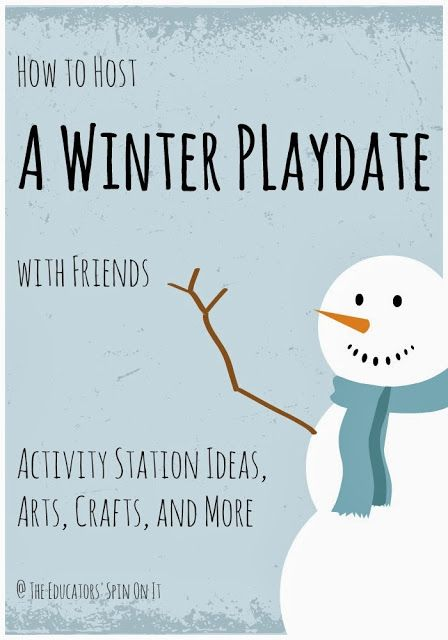 How to Host a Winter Play Date