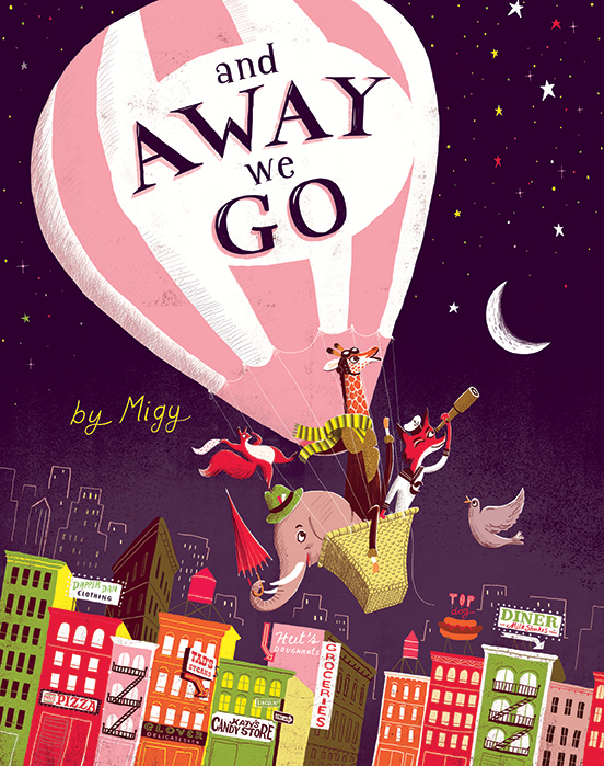 Book of the Week: And Away We Go!
