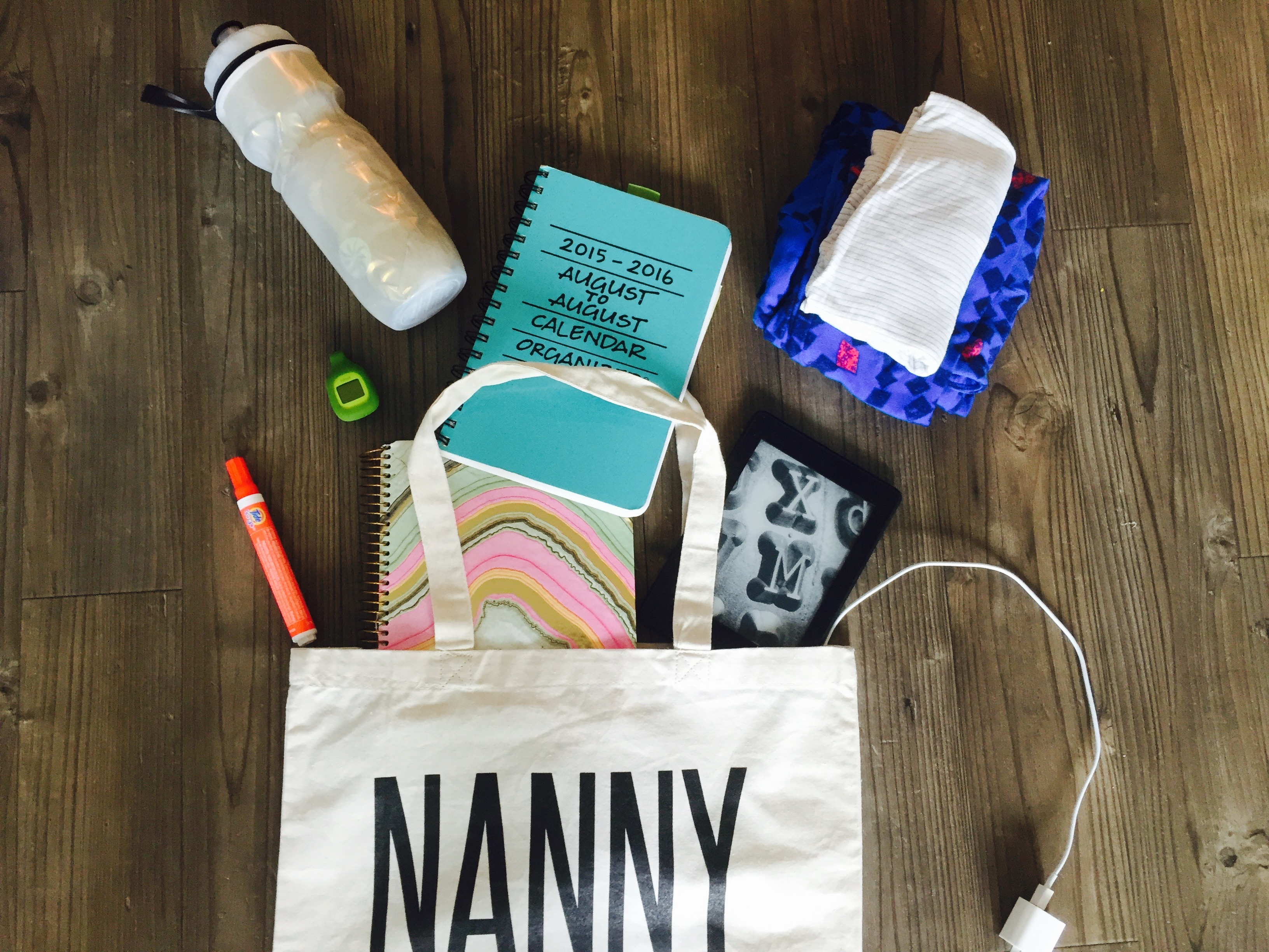What's In My Nanny Bag?