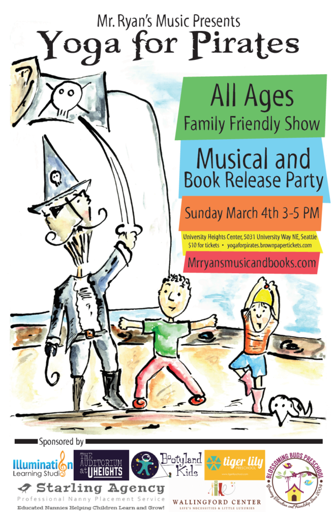 Yoga For Pirates Seattle Childrens Musical Book Release
