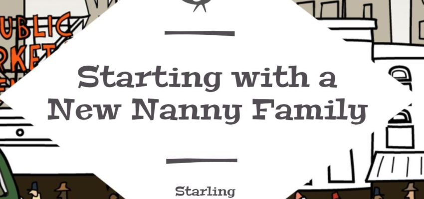 Starting with a New Nanny Family